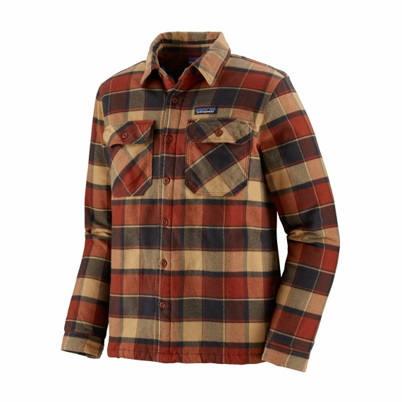 Patagonia M's Insulated Fjord Flanel Jacket